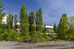 Palace of Culture in Pripyat royalty free stock photo