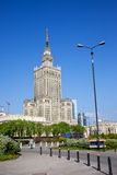 Palace of Culture and Science Stock Images