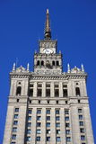 Palace of culture and science, Poland Royalty Free Stock Photo