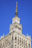 Palace of Culture and Science in Warsaw Royalty Free Stock Image