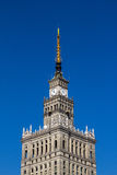 Palace of Culture and Science Royalty Free Stock Photos