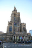 Palace of Culture and Science Royalty Free Stock Image