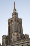 Palace of Culture and Science in Warsaw. Royalty Free Stock Photos
