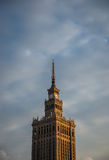 Palace of Culture and Science Royalty Free Stock Photo