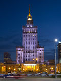 The Palace of Culture and Science in Warsaw Stock Photos