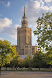 Palace of Culture and Science, Warsaw, Poland. Palace of Culture and Science, Poland stock photo