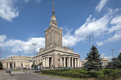 Palace of Culture and Science in Warsaw, Poland. One of the highest building of Europe - Palace of Culture and Science in Warsaw, Poland royalty free stock image