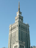 Palace of Culture and Science, Warsaw Royalty Free Stock Images