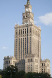 Palace of Culture and Science, Warsaw Royalty Free Stock Image