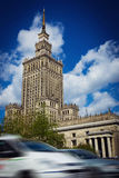 The Palace of Culture and Science in Warsaw, Poland Royalty Free Stock Photography