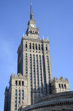 Palace of Culture and Science, Warsaw Stock Image