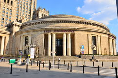 Palace of Culture and Science in Warsaw, Poland Royalty Free Stock Images