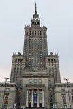 Palace of Culture and Science Royalty Free Stock Images