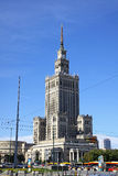 Palace of Culture and Science in Warsaw, Poland Royalty Free Stock Photography