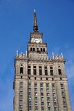 Palace of Culture and Science, Warsaw Stock Photos