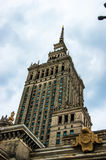 Palace of Culture and Science - Warsaw Stock Photos