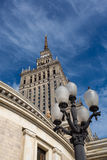 Palace of Culture and Science in Warsaw Royalty Free Stock Photo
