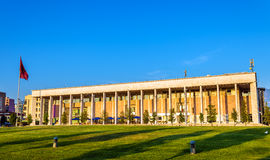 The Palace of Culture in Tirana. Albania Royalty Free Stock Photo