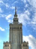 Palace of Culture Warsaw Royalty Free Stock Images