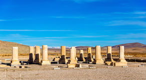 Palace of Cyrus the Great in Pasargadae, Iran Stock Photography