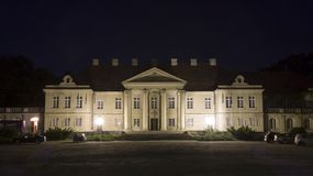 Palace in Czerniejewo Royalty Free Stock Images