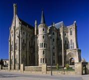 Palace d'évêque à Astorga 3 Photographie stock libre de droits
