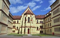 Palace d'évêque à Zagreb Photographie stock libre de droits