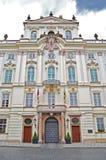 Palace d'archevêque à Prague Ressort Photos libres de droits