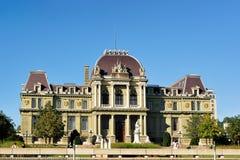 Palace de Justice Montbenon στη Λωζάνη Στοκ φωτογραφία με δικαίωμα ελεύθερης χρήσης