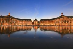 Palace de la bourse Royalty Free Stock Photo