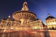Palace de la bourse Royalty Free Stock Image