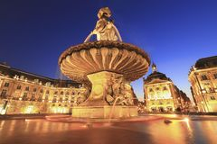Palace de la bourse Stock Photography