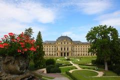 Palace de obispo en el rzburg del ¼ de WÃ, Alemania 2011 Foto de archivo