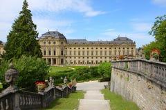 Palace de obispo en el rzburg del ¼ de WÃ, Alemania 2011 Fotografía de archivo