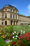 Palace de obispo en el rzburg del ¼ de WÃ, Alemania 2011 Imagen de archivo