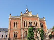 Palace de obispo, Novi Sad, Serbia Foto de archivo
