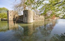 Palace de obispo. Wells Foto de archivo