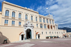 Palace de príncipe de Mónaco fotografía de archivo
