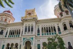 Palace de Valle, Hotel, Restaurant, Cienfuegos, Cuba Royalty Free Stock Photography