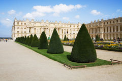 Palace de Versailles in France, garden Royalty Free Stock Photos