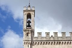 Palace dei Consoli in Gubbio – Italy Royalty Free Stock Image