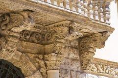 Palace Della Marra. Barletta. Puglia. Italy. Stock Image