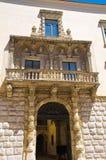 Palace Della Marra. Barletta. Puglia. Italy. Royalty Free Stock Photography