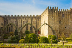 Palace des Erzbischofs, Braga, Portugal Lizenzfreies Stockbild