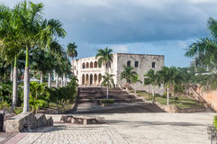 Palace. In dominican republic capital santo domingo Royalty Free Stock Photography