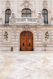 Palace Door. Door of the Palace in Pszczyna (Poland Royalty Free Stock Photo