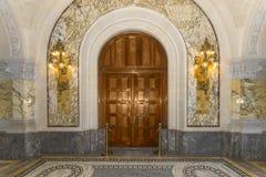 Palace door room Stock Photos