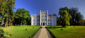 Palace in Drzeczkowo Royalty Free Stock Photography