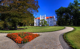 Palace in Drzeczkowo Stock Image