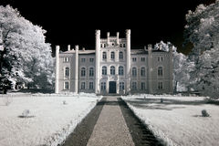 Palace in Drzeczkowo Royalty Free Stock Image